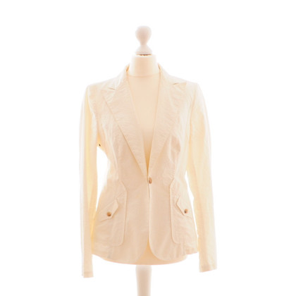Costume National Crema Blazer