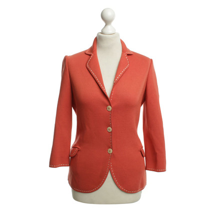 Loro Piana Seidenblazer in Orange