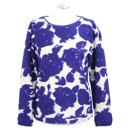 Reiss Sweater in blue / silver