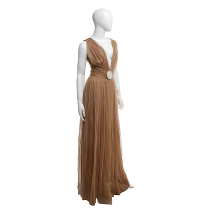 Elisabetta Franchi Robe marron clair