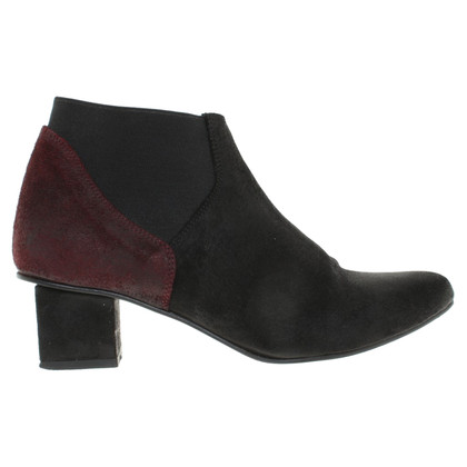 Wood Wood Ankle boots in black / Bordeaux