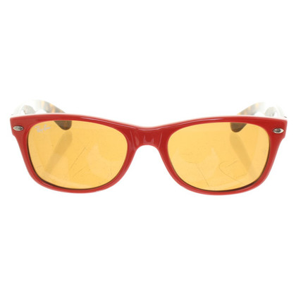 Ray Ban Zonnebril in Rood / Brown