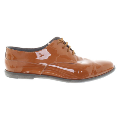 Marc Cain Patent leather lace-up shoes