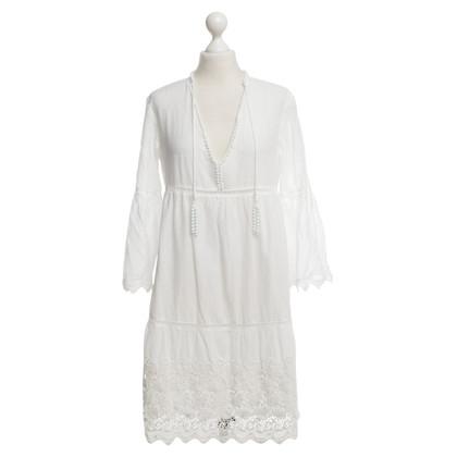 Twin-Set Simona Barbieri Weißes Sommerkleid