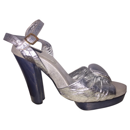 Marc Jacobs Silver colored sandals