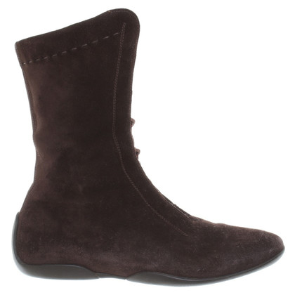 Max Mara Lace-up boots in Brown