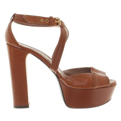 L'autre Chose Sandals in brown