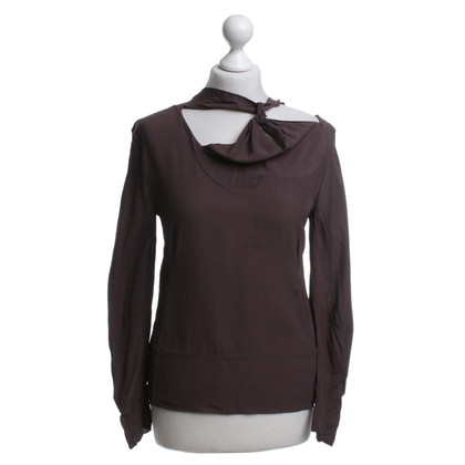 Marni top in brown