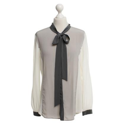 Van Laack Silk blouse in gray