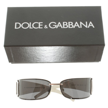 Dolce & Gabbana Sunglasses with Rhinestones
