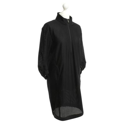Riani Gestructureerde jurk in zwart