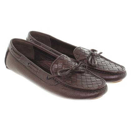 Bottega Veneta Loafers in Bruin