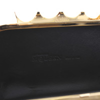 "Alexander McQueen clutch ""floral IRIS skull"""