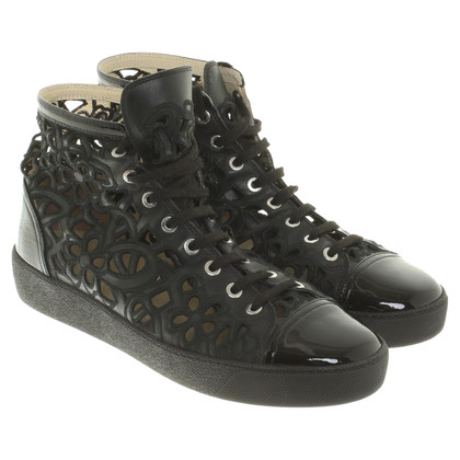 Chanel Sneakers aus Leder