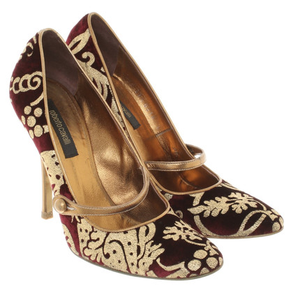 Roberto Cavalli pumps with pattern