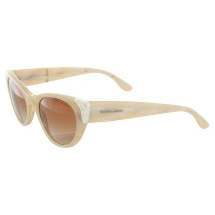 Ralph Lauren Lunettes de soleil à la crème blanche
