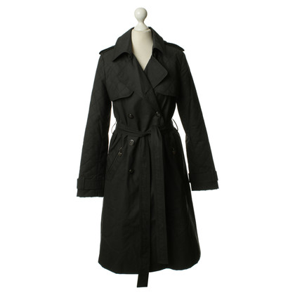 Luella Trenchcoat in Schwarz