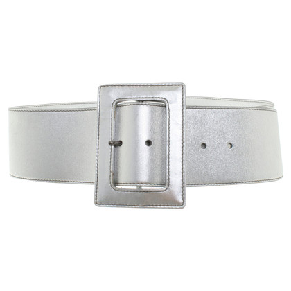 Prada Metallic-look belt
