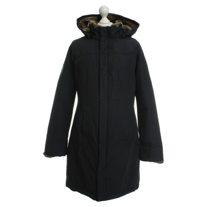 Woolrich Down coat with real fur