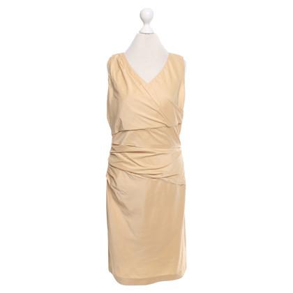 René Lezard Camel colored dress