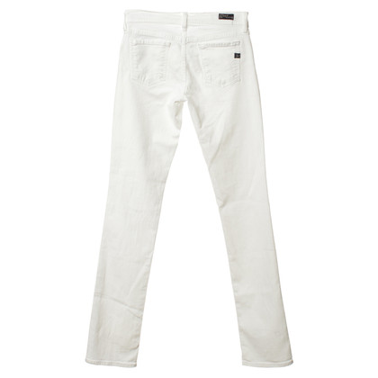 "Citizens of Humanity Jeans ""Ava #142"" in het wit"