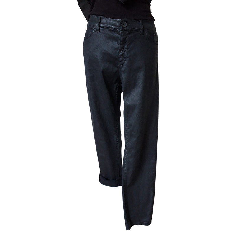 Marc Cain Jeans in Grau Second Hand Marc Cain Jeans in