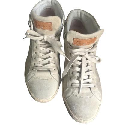 Santoni High Top Sneakers