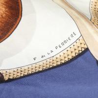 Hermès foulard de soie colorée