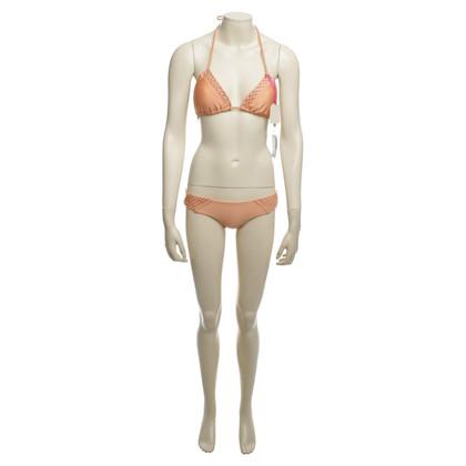 Luli Fama Bikini in apricot