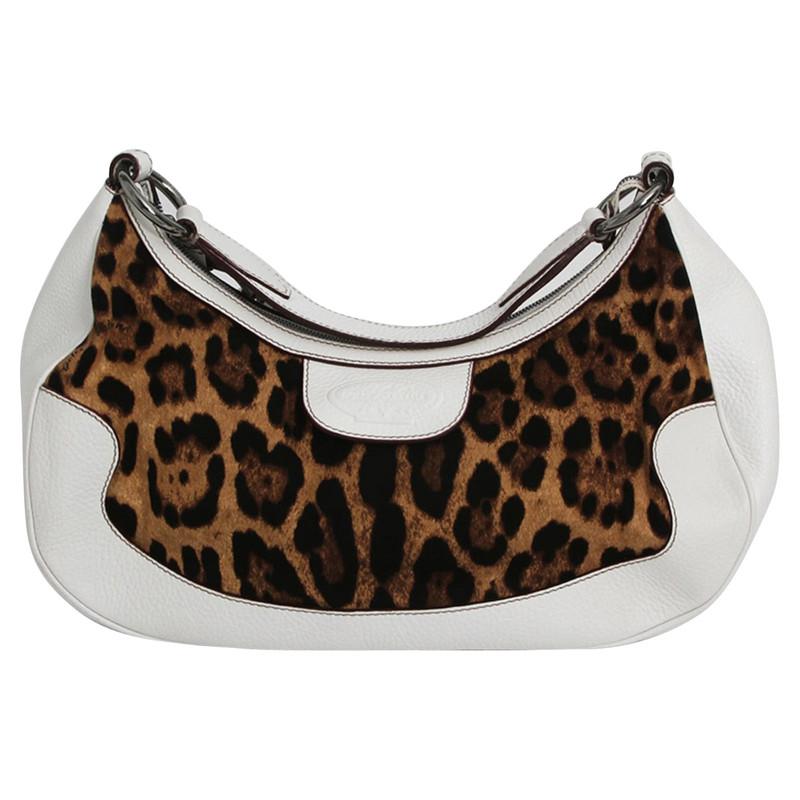 Dolce & Gabbana Sac à bandoulière à motif léopard b7h44l