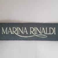 Marina Rinaldi giacca di pelle scamosciata in Altrosa