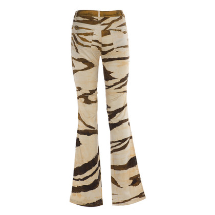 Roberto Cavalli Pants with a zebra print