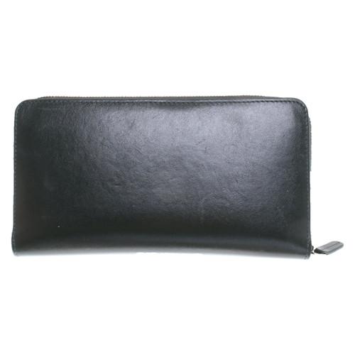75494013e167e Mansur Gavriel Täschchen Portemonnaie aus Leder in Grün - Second ...