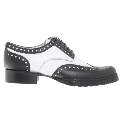 Dsquared2 Veterschoenen in zwart / White