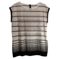 Marc Cain Pailette shirt, striped