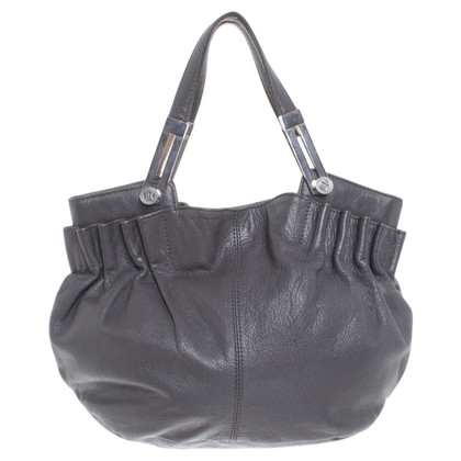 John Galliano Borsa in pelle a Gray