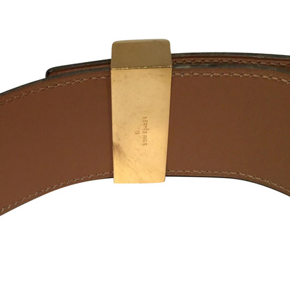 "Hermès ""Collier de Chien"" from ostrich leather"
