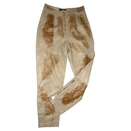Roberto Cavalli leather pants
