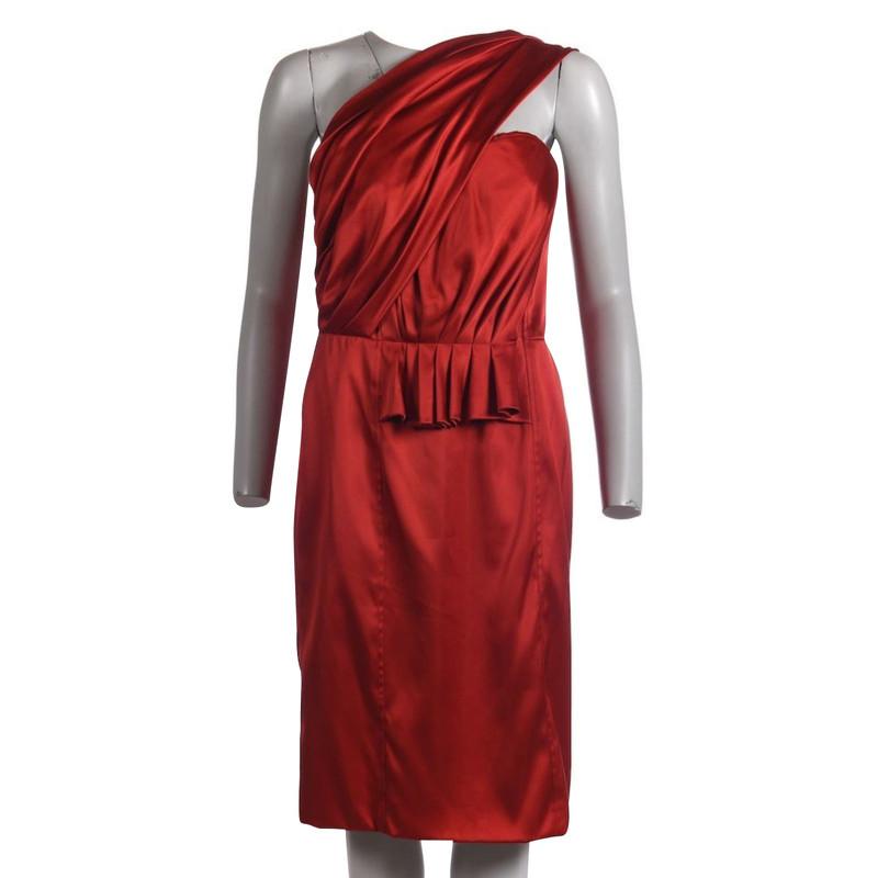 Kleid La Renta Oscar Hand Second De EWHID92