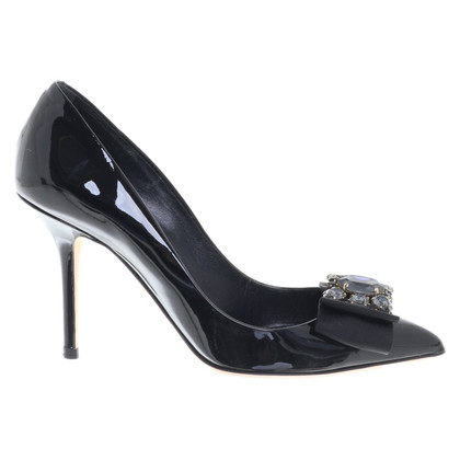 Dolce & Gabbana pumps with gemstone trim