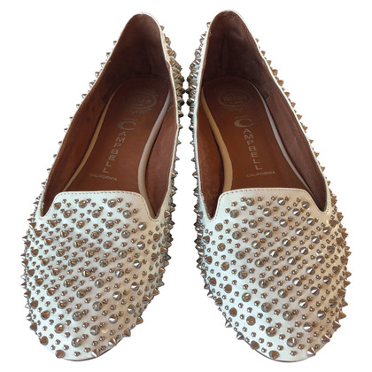 Jeffrey Campbell Slipper with studs trim