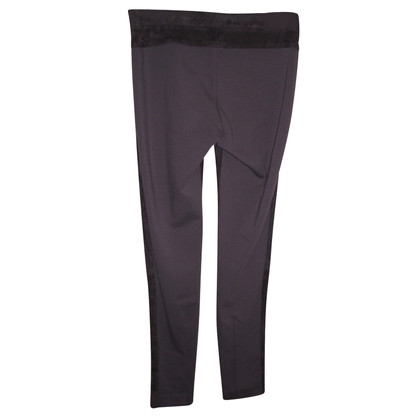Turnover Suede trousers
