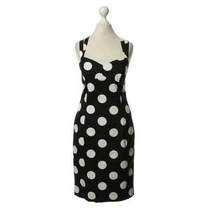 Moschino Kleid mit Punkten