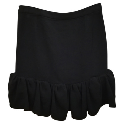Balenciaga skirt in black