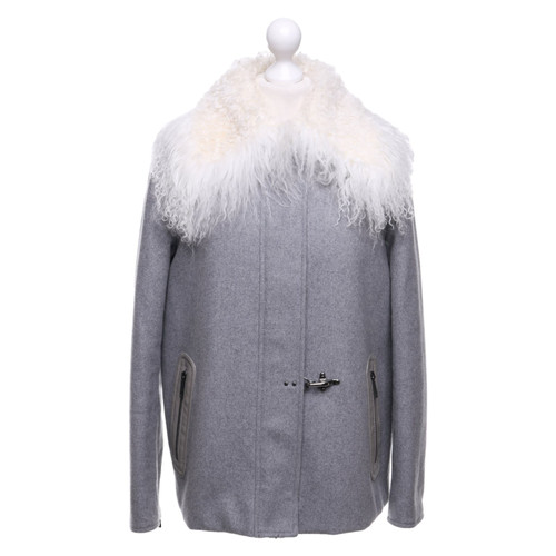 hot sale online 90532 2e17d Fay Jacket with lambskin collar - Second Hand Fay Jacket ...