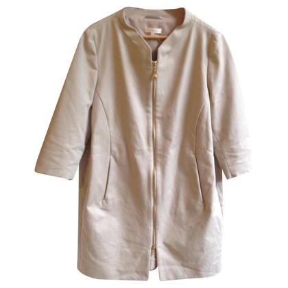 The Mercer N.Y. Coat with golden zipper