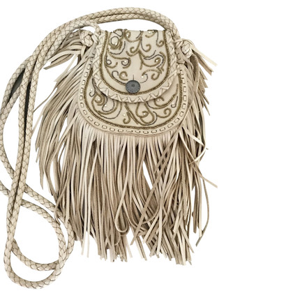 Ralph Lauren Shoulder bag with fringe decor