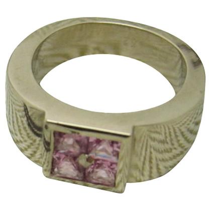 Hermès Roze saffieren ring