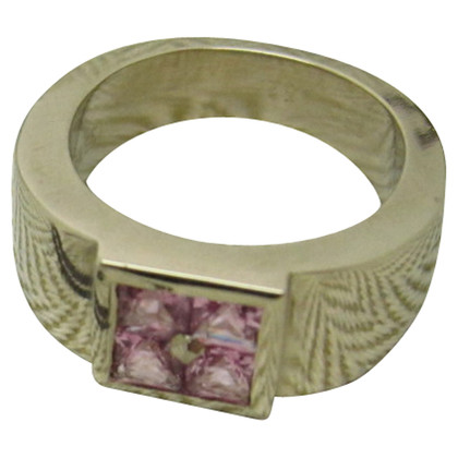 Hermès Pink sapphires ring