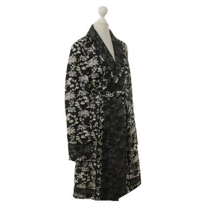 Alessandro Dell'Acqua Coat with floral pattern